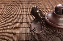 brown Chiński teapot Zdjęcie Royalty Free