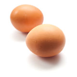 Brown chicken egg  Royalty Free Stock Images
