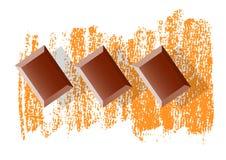 Brown chocolate Stock Photos