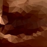 Brown chocolate of abstract triangles Royalty Free Stock Image