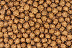 Brown chocolate balls  background Royalty Free Stock Images