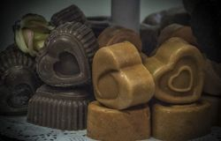Heart-shaped Soap royalty free stock images