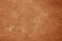 Brown ściany tekstury porysowany tło Obraz Stock