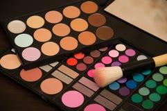 Brown cienia makeup Obrazy Stock