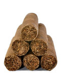 Brown cigar Stock Images