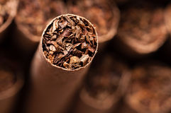 Brown cigarette Royalty Free Stock Images