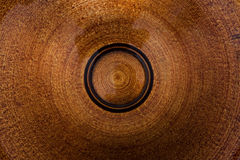 Brown circles Stock Images