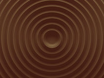 Brown circles abstract picture. 3D Stock Images