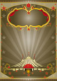 Brown Circus Night Stock Images