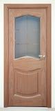 Brown classic door Stock Photo