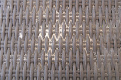 Brown close up of a basket weave background Royalty Free Stock Photography