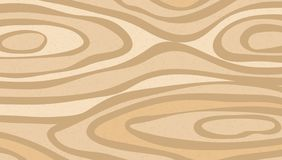 Brown closeup wooden cutting, chopping board, table or floor surface. Wood texture. Vector illustration.  vector illustration