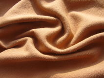 Brown cloth. Stock Photography