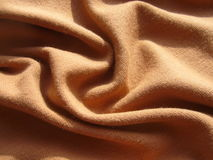Brown cloth. Stock Images