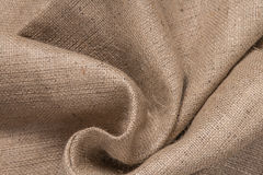 Brown cloth background, old fabric texture for background, close up stock photo