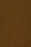 Brown cloth book binding background Royalty Free Stock Photos