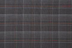 Brown cloth with checkered pattern Royalty Free Stock Photography