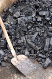 Brown coal Royalty Free Stock Image