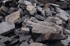 Brown coal Stock Images