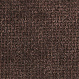 BROWN COARSE WEAVE FABRIC BACKGROUND Stock Photo