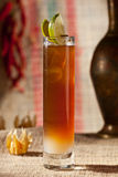 Brown Cocktail Royalty Free Stock Photo