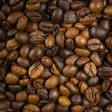 Brown coffee, background texture, close-up Royalty Free Stock Photo