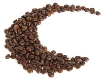 Brown Coffee Beans Royalty Free Stock Image