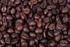 Brown coffee beans background texture Stock Photos
