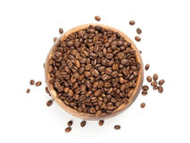 Brown coffee beans Stock Image