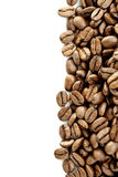 Brown Coffee Beans Row Royalty Free Stock Images