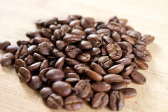 Brown Coffee beans Stock Photography