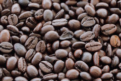 Brown coffee. Closeup of brown coffee background Stock Images