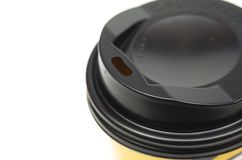 Brown coffee cup Stock Images