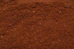 Coffee powder background Stock Photography