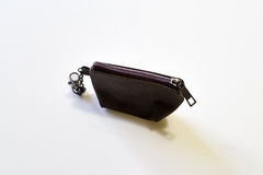 Brown Coin purses Stock Photography