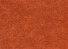 Brown color artificial leather pattern. Stock Images