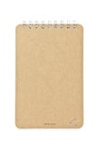 Brown color Cover Note Book Stock Image
