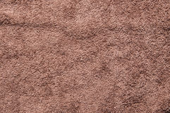 Brown color of fabric background Royalty Free Stock Photo