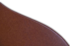 Brown color leather Stock Photos