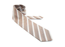 Brown color necktie Royalty Free Stock Images