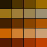 Brown Color Palette Royalty Free Stock Photography
