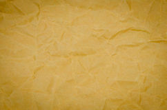 Brown color paper bag background Royalty Free Stock Images