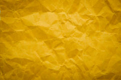 Brown color paper bag background Stock Photography