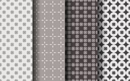 Brown color seamless pattern. Luxury concept. Graphic design. EPS 10 vector Vector Illustration