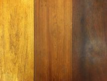 Brown color shade of wood plank. Old vintage style of wooden table. stock photography