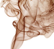 Brown color smoke Royalty Free Stock Photos