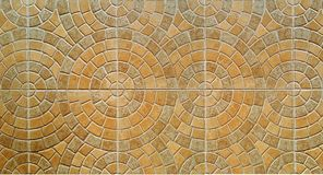Brown color Tile floor Royalty Free Stock Image