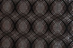 Brown colored patterned fabric texture royalty free stock photography