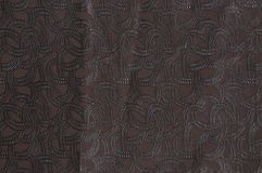 Brown colored patterned fabric texture stock images