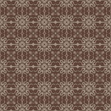 Brown Colors Art Deco Style lattice Pattern design. Original Pat Royalty Free Stock Photos